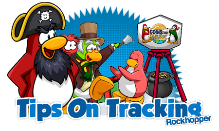 tips on tracking rockhopper club penguin area club